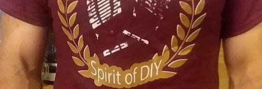 Spirit of DIY T-Shirt CLARET
