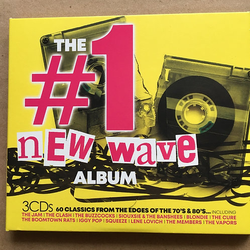 The Number 1 New Wave Album CD