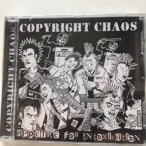Copyright Chaos - Appetite for Intoxication CD
