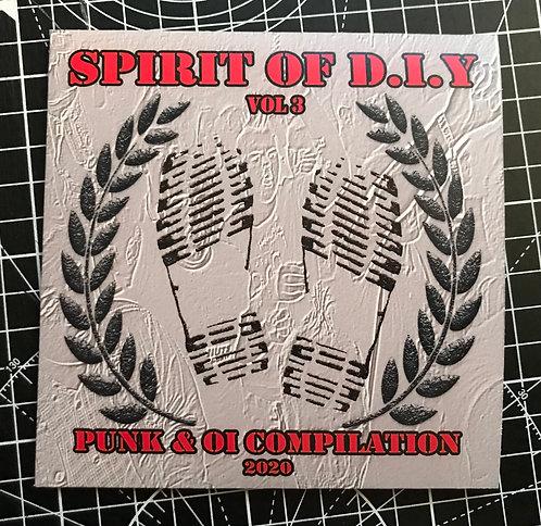 Spirit Of DIY Vol 3 Punk & Oi CD
