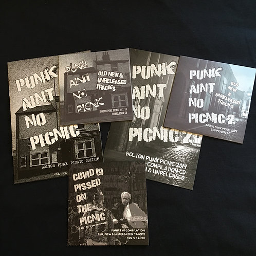 Punk aint no Picnic  Compilation CDs  Volume 1 -2 -3