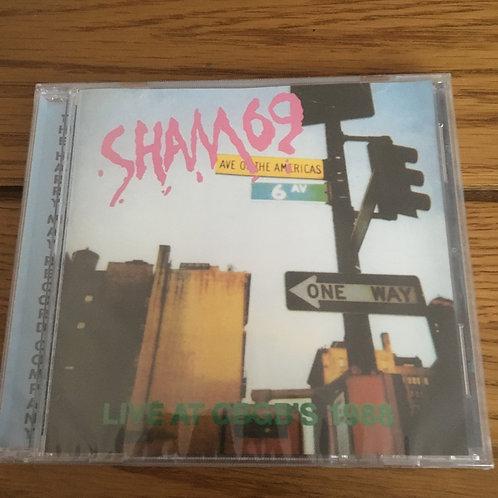 Sham 69 - Live at CBGBs 1988