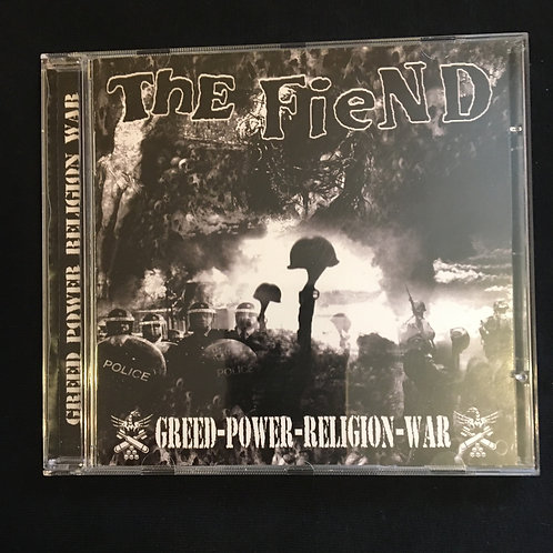 The Fiend -Greed Power Religion War CD
