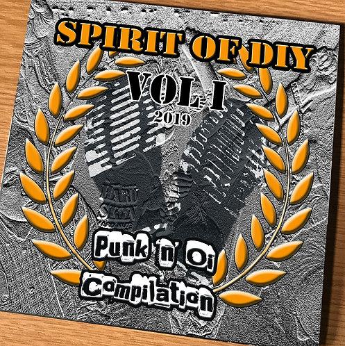 Spirit of DIY Volume 1 Punk & Oi Compilation 2019