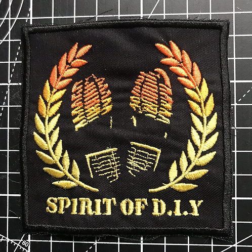 Patch Spirit of DIY Embroidered
