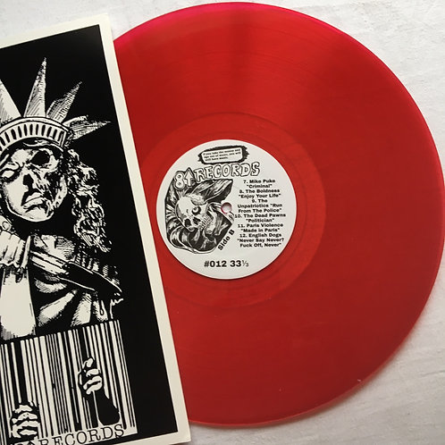 Civil Liberties Compilation Red Vinyl