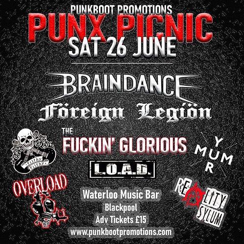 Punx Picnic BLACKPOOL Sat 26 June 2021 Tickets