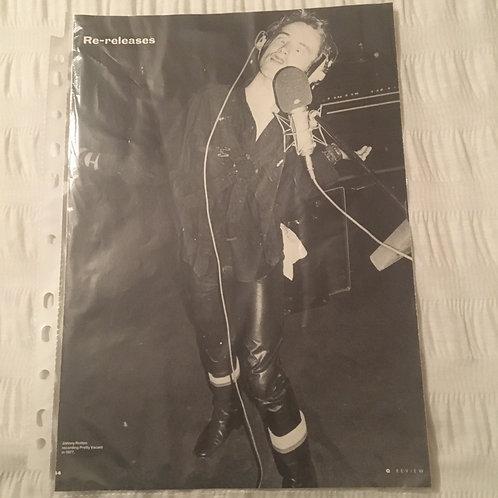 Sex Pistols Poster loose leaf