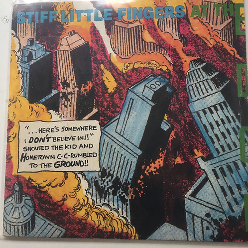 Stiff Little Fingers - At the Edge single