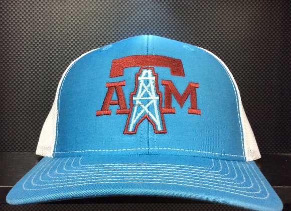 Texas A&M Houston Oilers Mash Up Cap