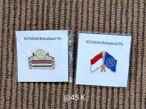 Rotarian Motivational Pin