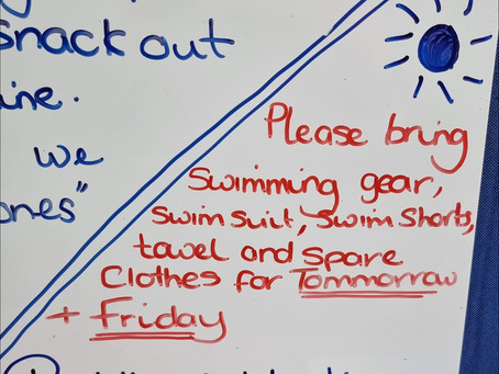 Swimmers at the Ready -  Attention All Parents/Carers