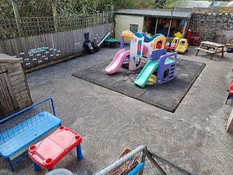 Outside Play Area - Exbourne Preschool