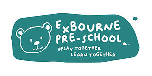 Exbourne Preschool logo with words