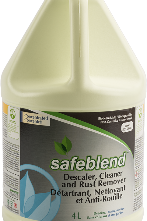 Safeblend Descaler, Cleaner & Rust Remover