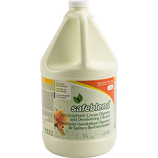 Safeblend Bioenzymatic Grease Digester & Deodorizing Cleaner