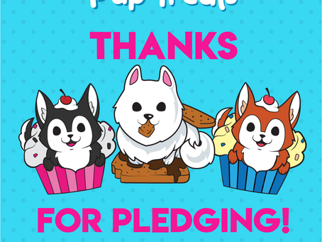 Three 'Pup Treats' Pins Have Been Funded!