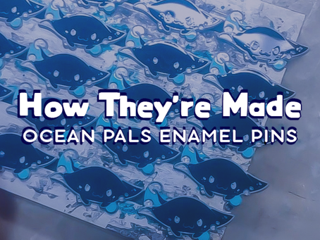 Ocean Pals: How Pins Are Made!