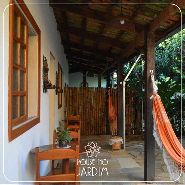 Bom dia! #jardim #vemprapiri #hospedagem