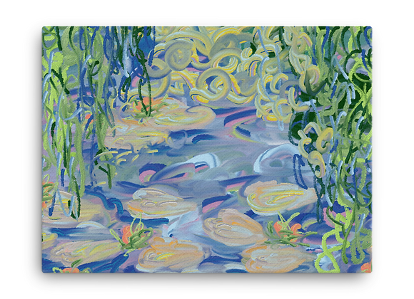 """""""Water Lily"""" 00.5 Canvas"""