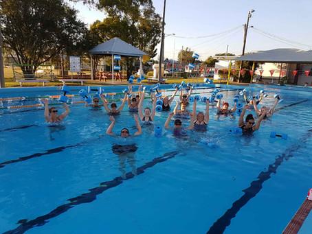 Aqua Aerobics at Rosewood