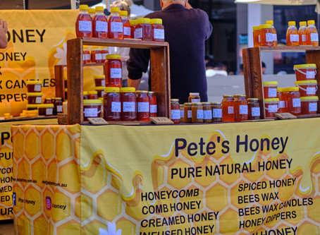 The honey is as it comes out of the beehive.