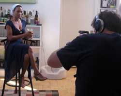 ON SET OF DOCUMENTARY