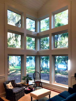 Window view to St. Johns River