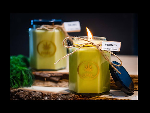 The OMC - CBD Soy Balm Candle