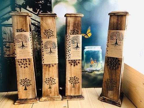 Incense Burner Tower - Tree of Life