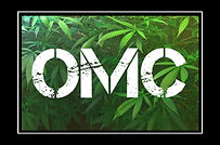 OMC logo cannabis leaves