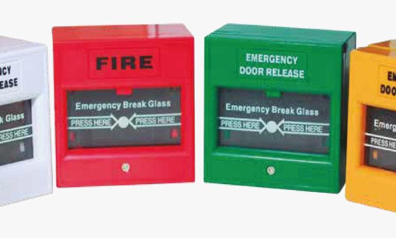Botón de Emergencias ANSON ASF-EA20/B/C/D