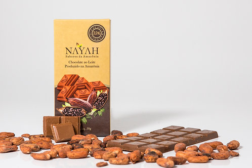 Chocolate Fino ao Leite 35% Cacau (50g)