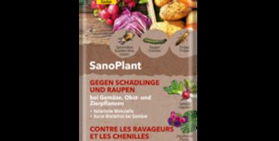 SanoPlant organic contre les ravageurs et les chenilles