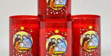 Bougie veilleuse - La Nativité du Christ