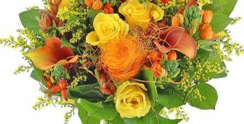 Bouquet estival coloré