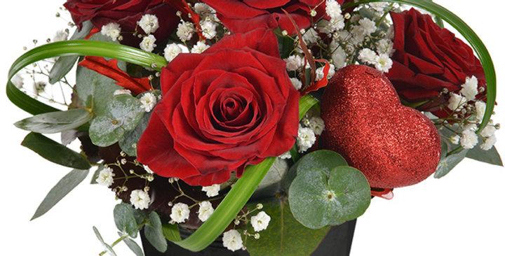 Arrangement tradition Saint-Valentin