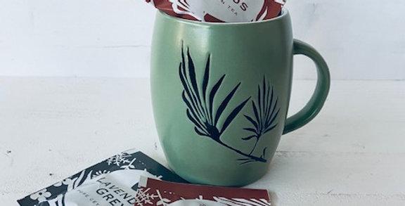 Botanical Mug à thé avec thé
