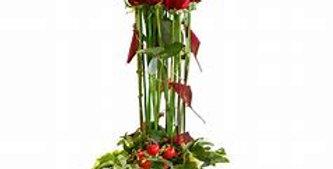 Botte de roses rouge