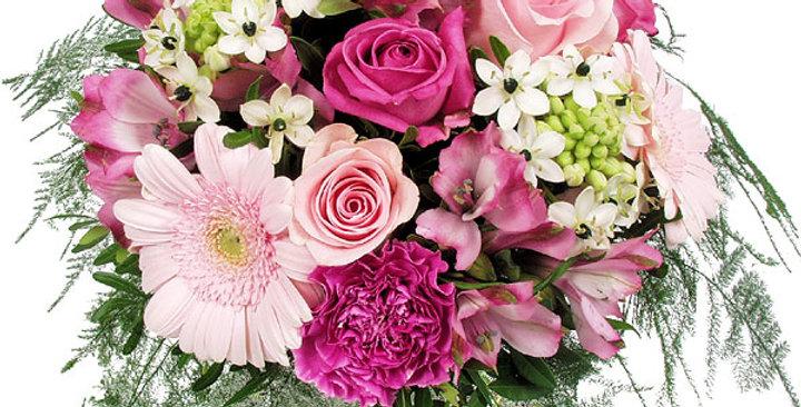 Bouquet printanier plein d'humour