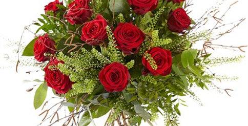 Nature en rose rouge