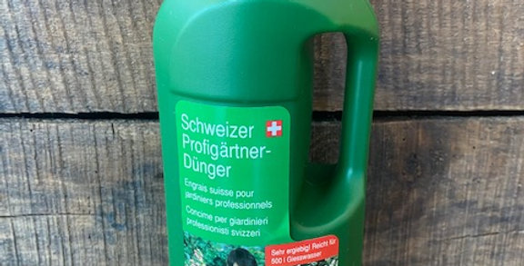 Engrais liquide suisse pour jardinier professionnel