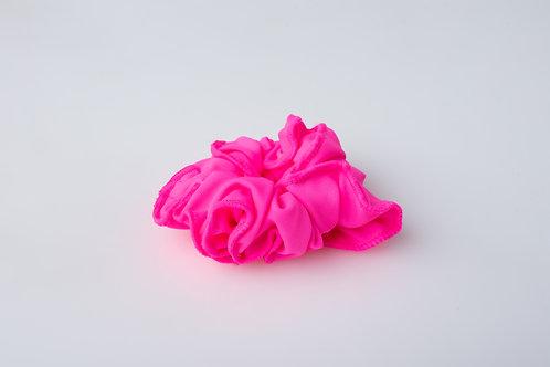 Pop Pink Scrunchie