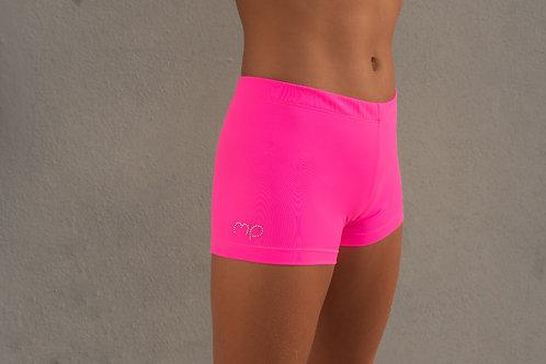 Pop Pink Twist Shorts