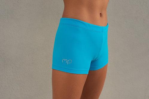 Turchese Twist Shorts