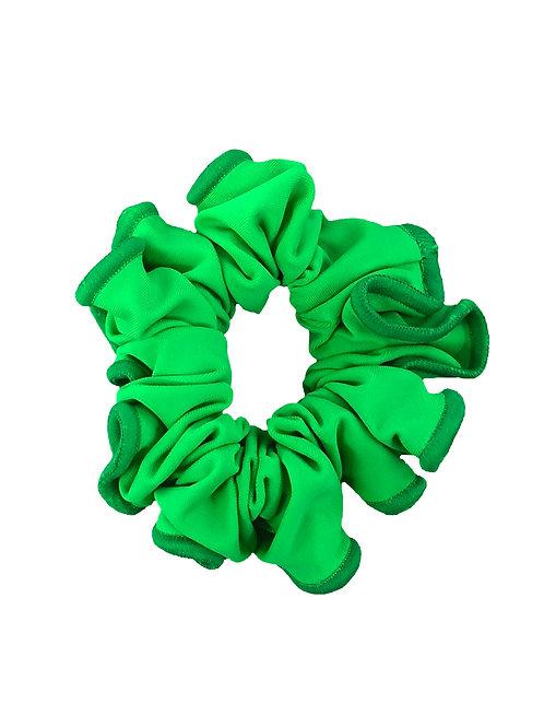 Happy Green Scrunchie