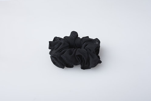 Elite Black Scrunchie