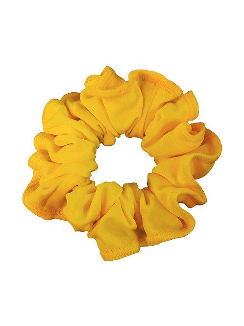 Tan Yellow Scrunchie
