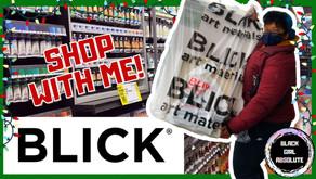 Shop with Me: Blick Art Materials + Art Supply Haul (video + transcript)