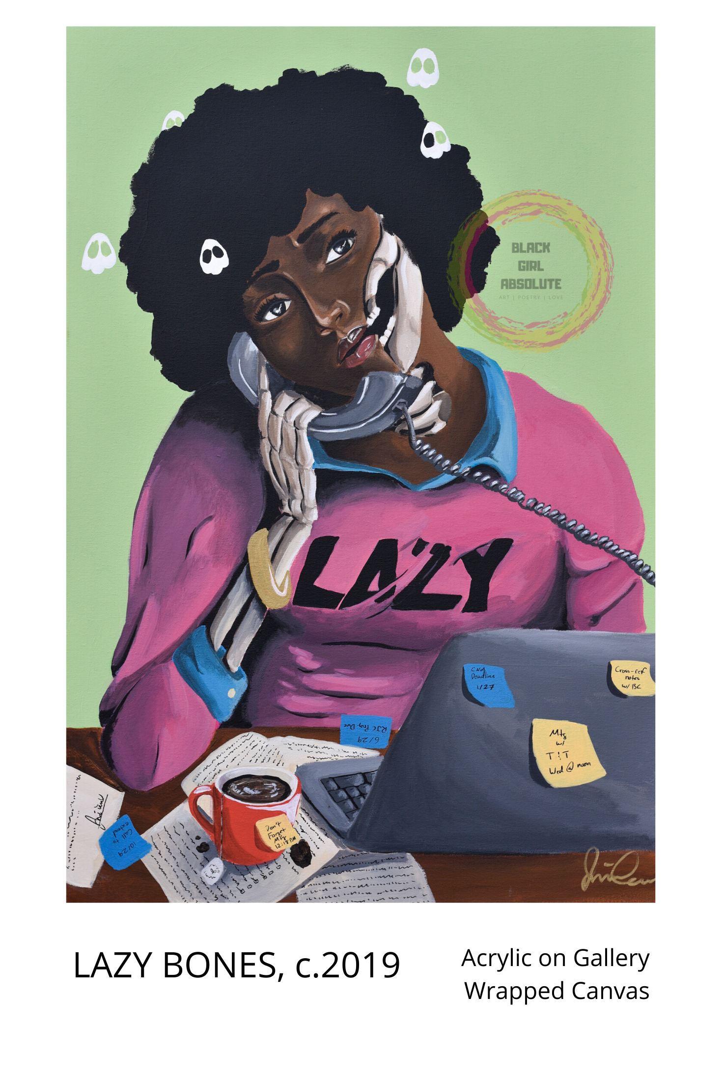 LAZY BONES, c.2019